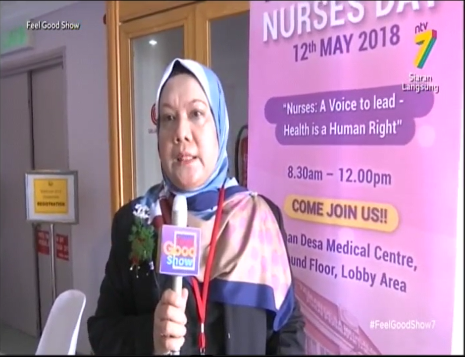 """Nurses: A Voice to Lead; Health is a Human Rights"" by TDMC"